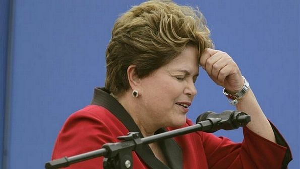 Presidente Dilma sente-se amea�ada