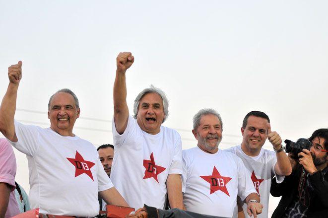 Lula participou de careeata na Capital